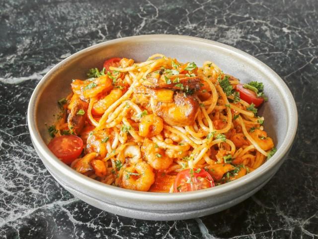 Topolino Italian Restaurant Linguine Mare e Monti